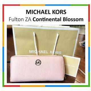 Dompet Clutch MICHAEL KORS Fulton Continental Blossom no Kate Spade