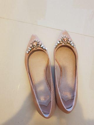 Faith pink shoes with jewels