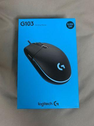 Logitech G103 Gaming Mouse