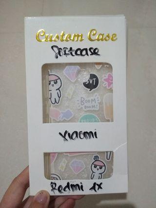 Soft Case doodle seventeen (svt) + photocard Xiaomi Redmi 4x