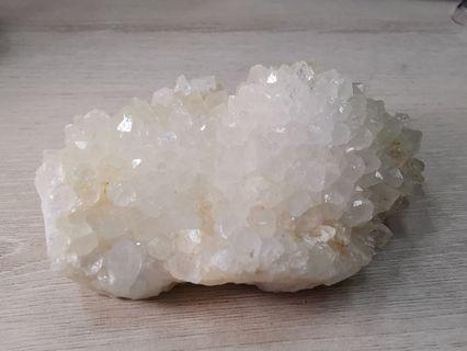 Natural rock crytal