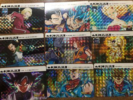 🚚 Dragonball cards