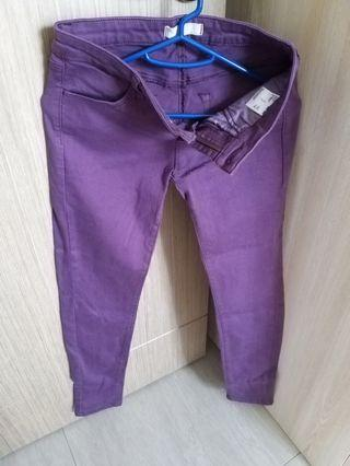 紫色長褲 purple trouser