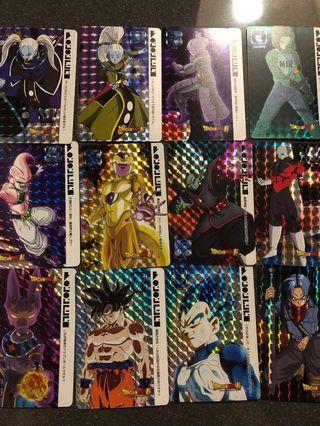 Dragonball cards
