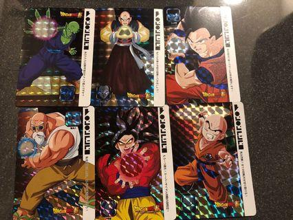 🚚 Dragon Ball Cards