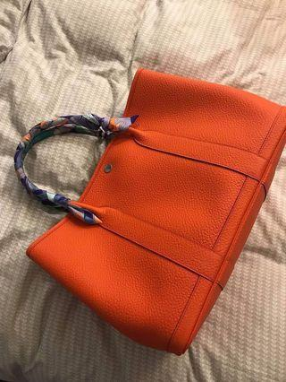 Hermes Garden party 36cm orange special edition