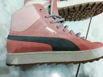 🚚 Puma高筒鞋