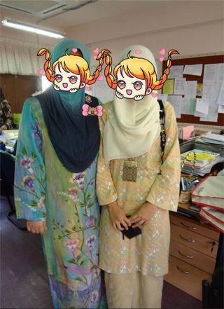 Baju Kurung Bahari Asyek- harga termasuk penghantaran ke semenanjung Malaysia