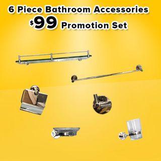 Bathroom Accessorizes at $99