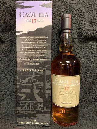 [搬家快放]Caol Ila 17 years unpeated single malt whisky