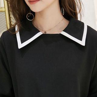 $14 brand new black babydoll dress size L XL