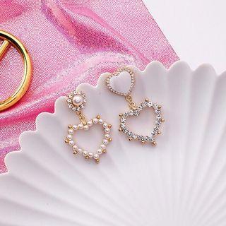 [ON HAND] Korean Heart Earrings