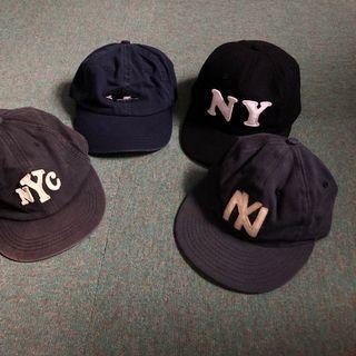 J.Crew NY 美製老帽 棒球帽 五分帽 only ny huf vintage LESS
