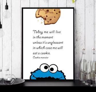 In stock - Funny quotes canvas painting