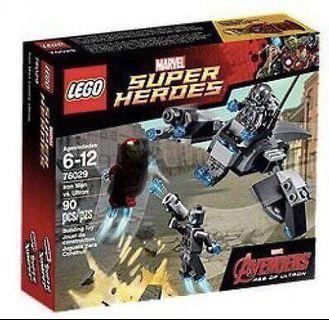 Lego Marvel Super Heroes 76029, 76101, 76104