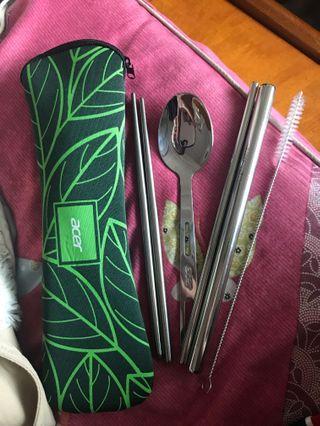 環保吸管、筷子湯匙組