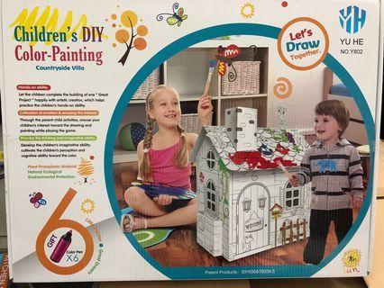 🚚 Children DIY painting set