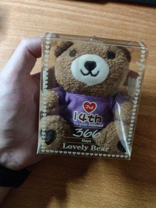 14th July Teddy Bear