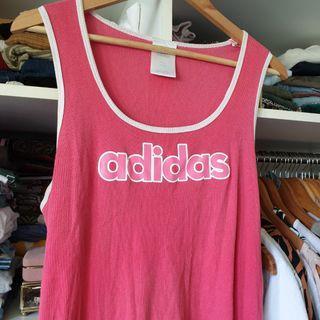 Retro style pink Adidas top y2k