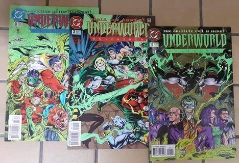 Underworld Unleashed - Issue 1,2,3 ( DC Comics )
