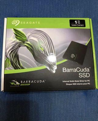 Seagate barracuda SSD 1TB w/ 5 years warrant by seagate (Sealed) !