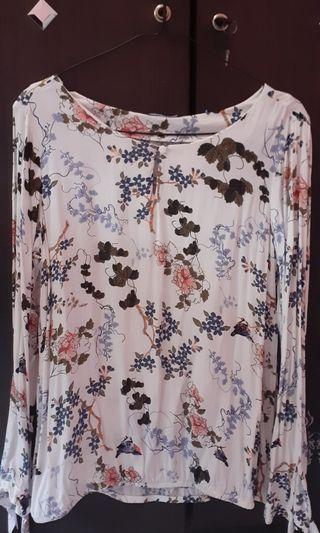 Flowery Viscose Shirt