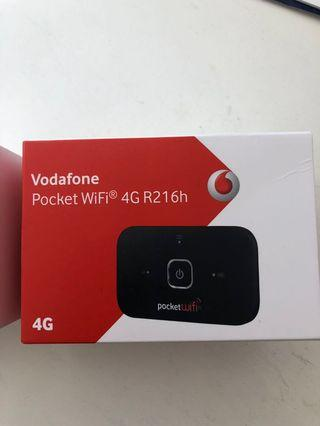 Pocket wifi vodaphone portable modem