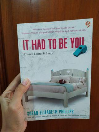 Novel It had to be you