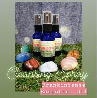 Frankincense essential oils spray