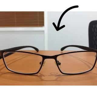 Frame Kacamata Minus Anti Bengkok Eyeglass Pria No Softlens