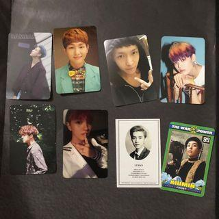PC OFFICIAL EXO NCT UNB GOT7