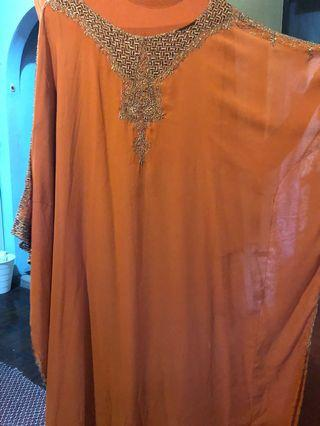 Kaftan Free Size (orange)
