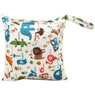 【YYB 04】L Size (30*28cm) Wetbag / Baby Diaper Wet Bag / Childcare Bag / Travel Bag