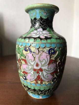 Antique vintage collectibles antiques porcelain collection Vase Arts & Prints Tables & Chairs Arts Artwork Crafts Jing TAi Lan Copper tire cloisonne