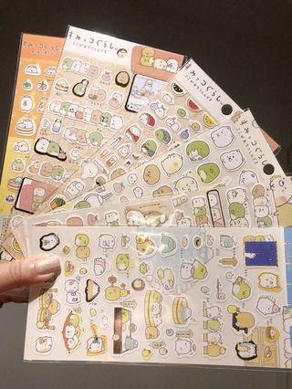 🤪勁多款 角落生物 手帳貼紙 貼紙