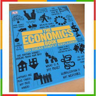 100% Ori DK Buku The Economics Book Hard Cover Original