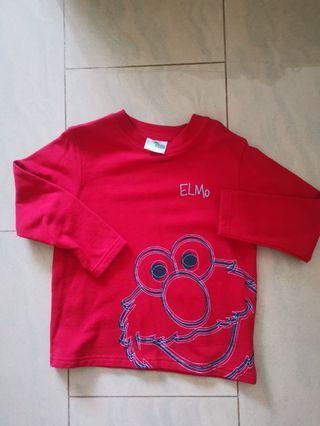 🚚 Sesame Street Elmo long sleeved top