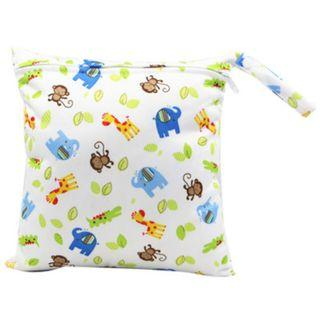 【YYB 40】L Size (30*28cm) Wetbag / Baby Diaper Wet Bag / Childcare Bag / Travel Bag