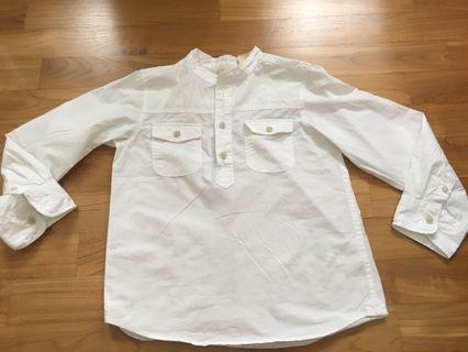 🚚 BN H&M Boys White Shirt
