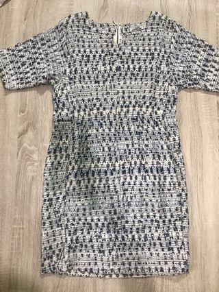 [Pre ❤️] Pull & Bear Tweed Dress