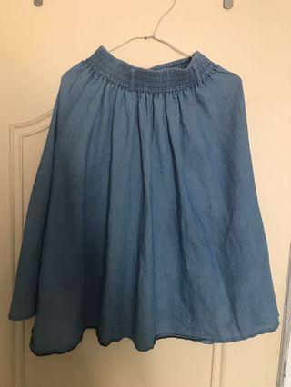 🚚 丹寧風 裙子