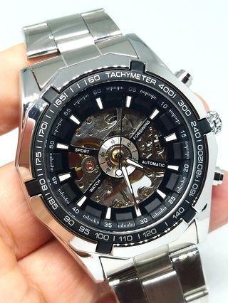 Jam tangan Forsining Automatic Skeleton ORI
