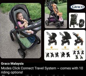 Graco Modes Click Connect #GayaRaya