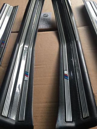 BMW E46 M SPORTS door sill scuff plate set
