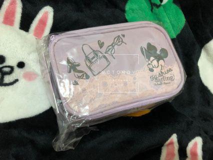 包郵 Disney 迪士尼化妝袋 小袋