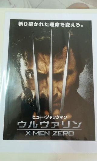 Calling all Wolverine fans! Wolverine Movie poster (Japanese version)