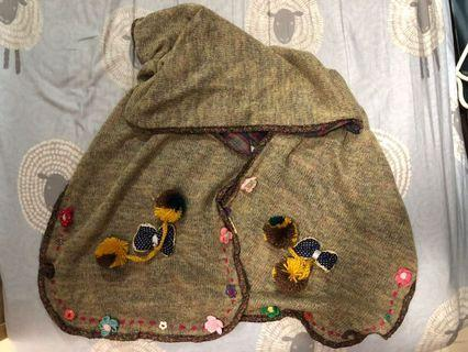 日系田園風格頸巾