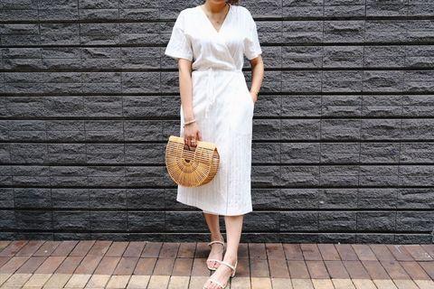 韓國綁帶連身裙