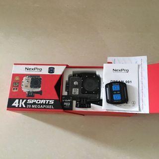 NexPro Camera 4K Sports / mirip GoPro