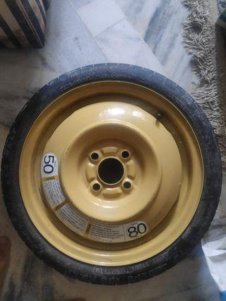 Suzuki Swift spare tire